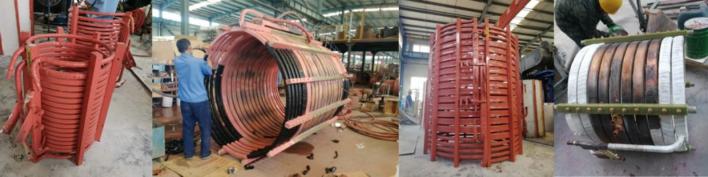 induction melting furnace part-induction coil
