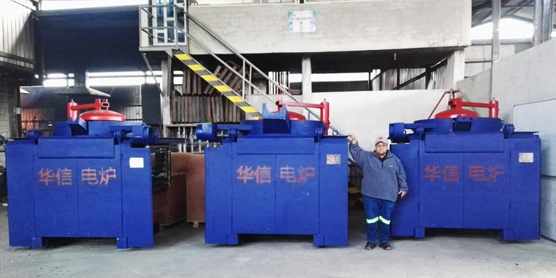500kg/500kg/1T Induction Melting Furnace in Ecuador