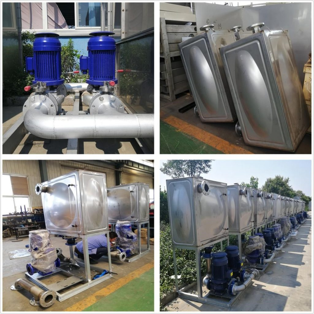 Auxiliary Machinery of enclosed water cooling system