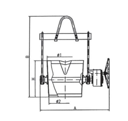 Ladle of Spheroidization Technical Parameters