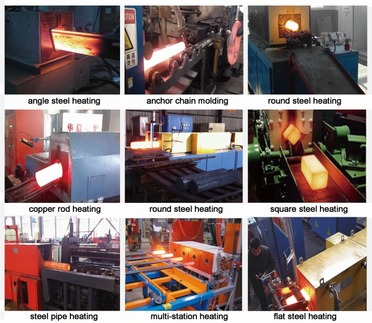 Induction heating equipment working site