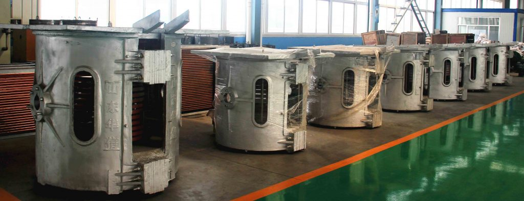 induction melting furnace-aluminum shell furnace body