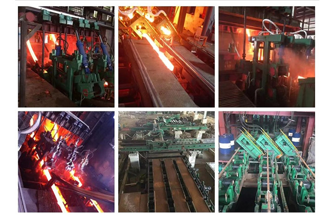 Countious casting machine working site