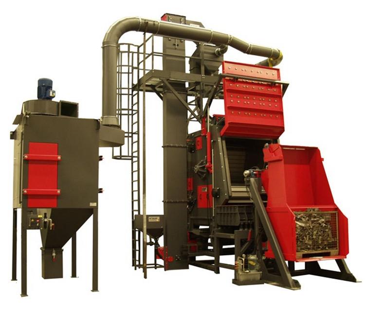 Crawler Shot Blasting Machine,foundry machine