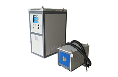 Super audio frequency heating machine