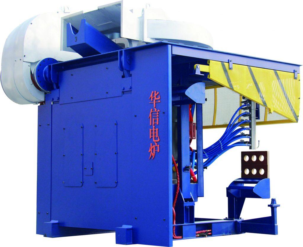 2000kg induction melting furnace