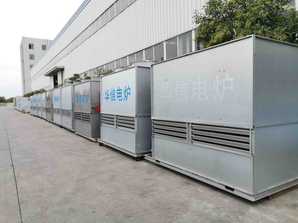 cooling tower for induction melting furnace